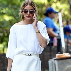 Olivia Palermo's Guide to Wearing All White