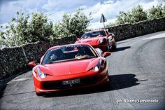 Ferrari Test Drive in Chianti  FCB Fam Trip - BRAZIL #florence #tuscany #ferrari