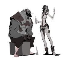 Morad and sophie by *JeanLaine on deviantART  ★ || CHARACTER DESIGN REFERENCES (https://www.facebook.com/CharacterDesignReferences & https://www.pinterest.com/characterdesigh) • Love Character Design? Join the Character Design Challenge (link→ https://www.facebook.com/groups/CharacterDesignChallenge) Share your unique vision of a theme, promote your art in a community of over 25.000 artists! || ★