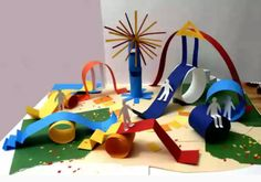 Paper Crafts For Kids, Craft Stick Crafts, Preschool Crafts, Projects For Kids, Diy For Kids, Art Projects, Diy And Crafts, Arts And Crafts, Ecole Art