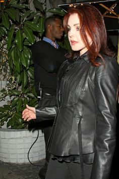"""Departing Chateau Marmont in Los Angeles after a meeting Ryan Cabrera and an """"American Idol"""" contestant. Priscilla was only one of many celebrities at the Chateau that night as it continues to be one of the most popular celebrity hang out spots, frequented by Lady Gaga and Kanye West."""