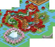 jinja - monte fuji - pagoda - tempio buddista - verde