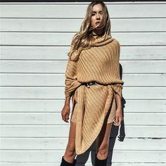 Sexy batwing tricô tricot poncho capa manto camisola 2016 mulheres caem de moda Pullovers Outono inverno jumper em Pullovers de Das mulheres Roupas & Acessórios no AliExpress.com | Alibaba Group