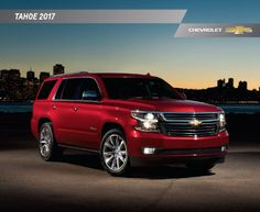 Hank Graff Chevrolet   Bay City: Downloadable 2017 Chevrolet Tahoe Brochure