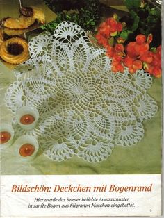 FREE DIAGRAMS TO SEVERAL DOILIES                                        Szydełkomania: Serwetki okragłe