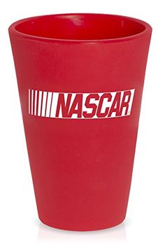 """Camping Kitchen :""""SILIPINT Silicone Pint Glasses : Squishy Beer Glasses : The Original Unbreakable Silicone Pint Glass : Patented Unbreakable Glassware for Beer and Wine and More : Drinkware That is Heat Safe and Freeze Safe : NASCAR Pint Glass : Ricochet Red : 16-Ounce"""" *** Wow! I love this. Check it out now!"""