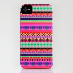 Tribal Stripe iPhone Case by Amy Sia - $35.00