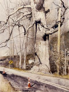 watercolor by Andrew Newell Wyeth