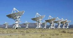 Very Large Array (VLA) near Socorro, New Mexico; I'd love to stargaze there!