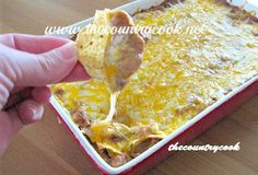 The Country Cook: Warm Bean Dip