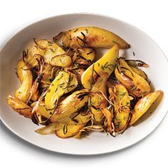 Roasted Rosemary Fingerling Potatoes | CookingLight.com #myplate #vegetables