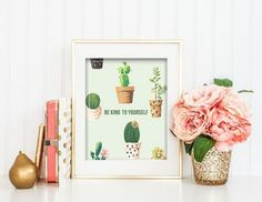 Spruce up your workspace with motivational prints.