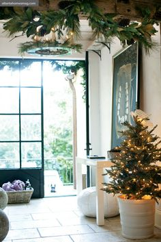 greige: interior design ideas and inspiration for the transitional home : Christmas in style with Jill Sharp Brinson