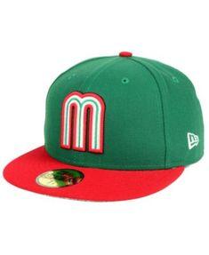 New Era Mexico World Baseball Classic 59FIFTY Fitted Cap. Clásico Mundial De  BéisbolGorras ... 6de9b4bb319