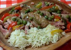 Somorjai színes hentes ragu | Horváth Ferenc receptje - Cookpad receptek Meat Recipes, Pork, Beef, Cooking, Kale Stir Fry, Meat, Kitchen, Pork Chops, Brewing