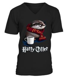 Harry Otter Shirt for Otter lover veteran T-shirt Harry Potter Shirts 4a8fb84702f3e