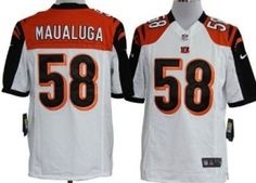 US$ 24.8    Nike NFL Jerseys Cincinnati Bengals 58 Dalton White