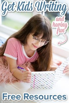 How To Get Kids Writing While They Are Home From School - Free Resources To Improve Writing Skills - 5 Minutes for Mom Writing Prompts For Kids, Cool Writing, Kids Writing, Writing Ideas, Improve Writing Skills, Writing Practice, At Home Science Experiments, Science Fair, Learning Resources