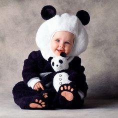 panda birthday - Google Search Panda Costumes, Animal Costumes, Cute Costumes, Baby Halloween Costumes, Baby Costumes, Bear Costume, Costume Dress, Happy Halloween, Halloween Party