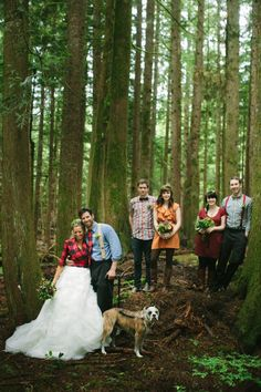 Lumberjack Wedding. YES!!!!!!!!!!!!!!!!! Let's just insert me in the bride's shoes...omg!