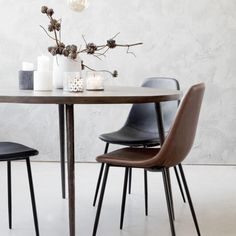 Society of Lifestyle - House Doctor®, Nicolas Vahé®, Meraki®, Monograph® House Doctor, Big Chair, Round Chair, Black Dining Room Chairs, Living Room Chairs, Chaise Diy, Hanging Chair From Ceiling, Contemporary Dining Chairs, Amazing Decor