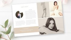 A photography magazine template is nothing but a compilation of sample photographs, accessories, items and other such things used in photography. Apart from