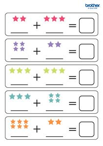 Create, customize and print custom learning activities. Leverage Brother Creative Center's learning activities templates for Math Under 5 Subtrctn. Brother Creative Center offers free, printable templates for Learning Activities. Preschool Writing, Numbers Preschool, Preschool Learning Activities, Teaching Kids, Free Kindergarten Worksheets, Worksheets For Kids, Lkg Worksheets, Addition Worksheets, Math For Kids