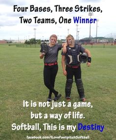 Is it your destiny? #FanMeme #ILoveFastpitchSoftball
