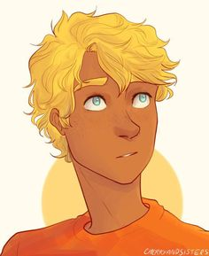todays autistic character of the day is: will solace from percy jackson and the olympians (submitted by autisticwillsolace and art used with permission by cherryandsisters ! Percy Jackson Fandom, Percy Jackson Ships, Percy Jackson Fan Art, Percy Jackson Books, Solangelo, Percabeth, Magnus Chase, Will Solace, Rick Riordan Series