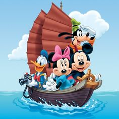 Illustrations Disney - Mickey Mouse and Friends