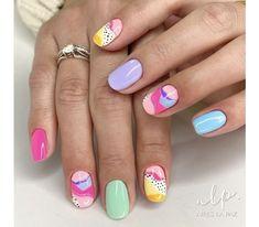 Plaid Nails, Basic Nails, Trendy Nails, Short Nails, Nail Inspo, Up Hairstyles, Claws, Hair And Nails, Nail Colors