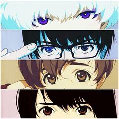 Five, Nine, Twelve y Lisa | Zankyou no terror