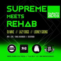 #suprememeetsrehab #supremestaff #rehab #solocosebelle #dimitrimazzoni #supremegirls #supremefamily #hiphop #hiphoplife #hiphopbeats #hiphopdance #hiphopmusic sabato 26.3.16