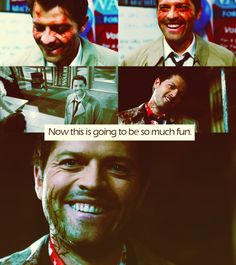 Misha Collins for all the awards. This man...is just. Amazing.
