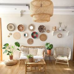 Bohemian Living Room, House Design, Room, House, Rooms Home Decor, Deco, Floating Shelves, House Styles, Home Decor