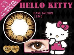 You shouldn't be surprised. There's a Hello Kitty toilet seat and a Hello Kitty chainsaw, so why shouldn't there be contact lenses? These are $39 and are non-corrective. You can…