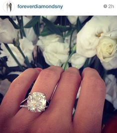 Holy cow! This is the biggest & most gorgeous ring!!