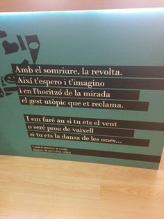 I amb el somriure, la revolta [Miquel, Martí i Pol] Love Quotes, Inspirational Quotes, Stop Thinking, Arctic Monkeys, Poetry Quotes, Inspire Me, Journal, Daisies, Words