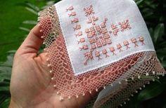 Çok zarif Turkish needle lace
