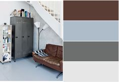 The family room colors
