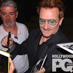 Bono rejoint les boys de U2 à Montréal - SPOTTED | HollywoodPQ.com