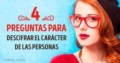 Test: 4preguntas para descifrar elcarácter delas personas