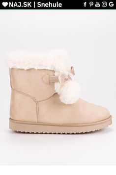 Módne béžové snehule CnB Ugg Boots, Uggs, Slippers, Shoes, Fashion, Moda, Zapatos, Shoes Outlet, Fashion Styles