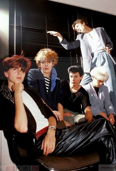 Duran Duran.... muse for my menswear collection