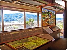 inside the visitor center san pasqual state historic park