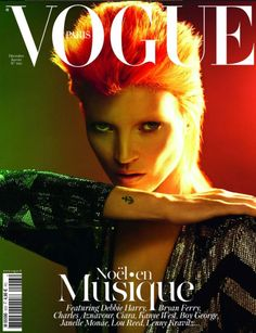 Vogue Paris - décembre 2011 - Kate Moss http://www.vogue.fr/mode/news-mode/articles/kate-moss-en-couverture-du-vogue-de-noel/11989