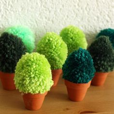 pom pom trees! of course!