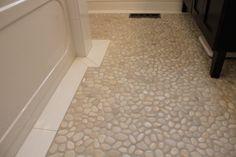 River Rock floor--love this indestructable floor!