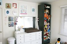 DIY Stuffed Animal Storage from an IKEA PAX Wardrobe | The Ever Clever Mom