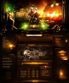 Website designs are awesome and really inspires you as a designer! Every element have to be right. To create fresh and original website designs for games you have to know very well as many effects as possible because you have to combine different styles and effects to result something awesome and impressive! To inspire you I collected about 40 incredible gaming website designs that I am sure it will inspire you!
